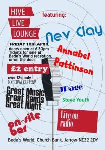 Hive Live Lounge poster April 2014 (2)
